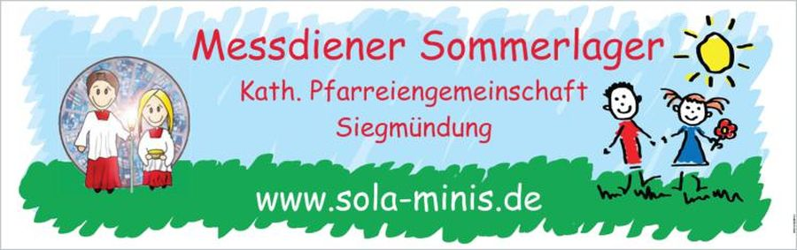 Messdiener Sommerlager