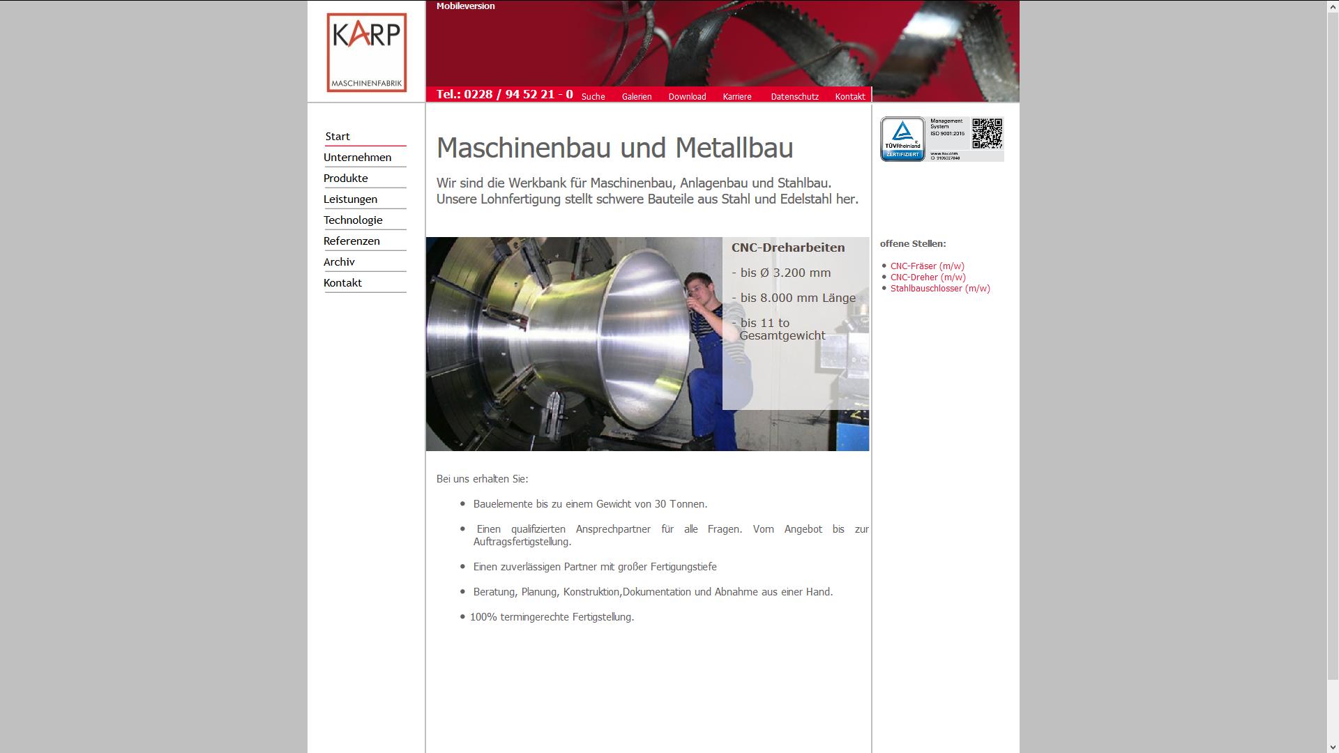 karp-maschinenfabrik